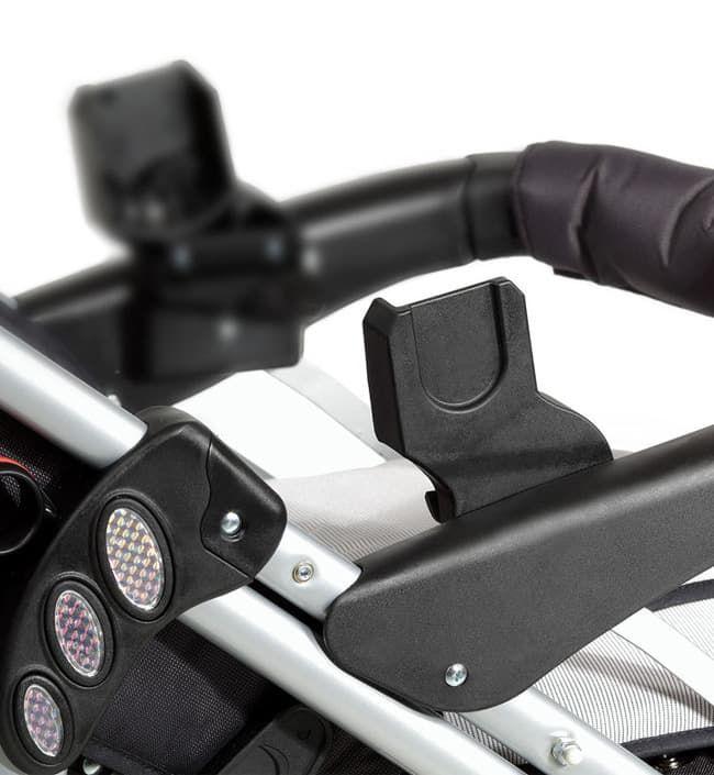 Адаптер на коляски Buggy iX1 для установки люлек Maxi Cosi, Pebble и BeSafe
