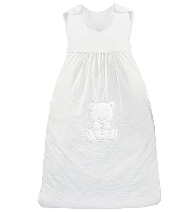 Теплый детский спальник-конверт Amore белый 90х110 см (Italbaby)