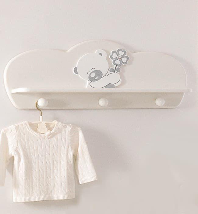 Полка-вешалка Baby Expert Полка-вешалка Serenata белая baby expert вешалка полка baby expert akoya