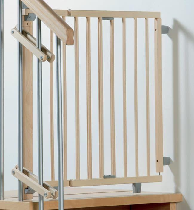 Ворота безопасности Geuther Ворота безопасности лестничные Geuther 99,5-140 см натуральные mikhail moskvin 1067a3l4