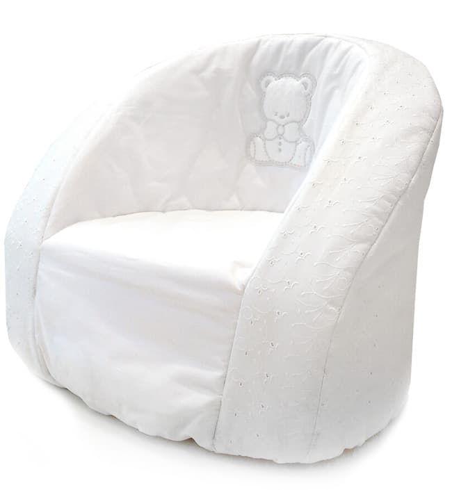 Кресло Italbaby Мягкое детское кресло Italbaby Amore белое детское