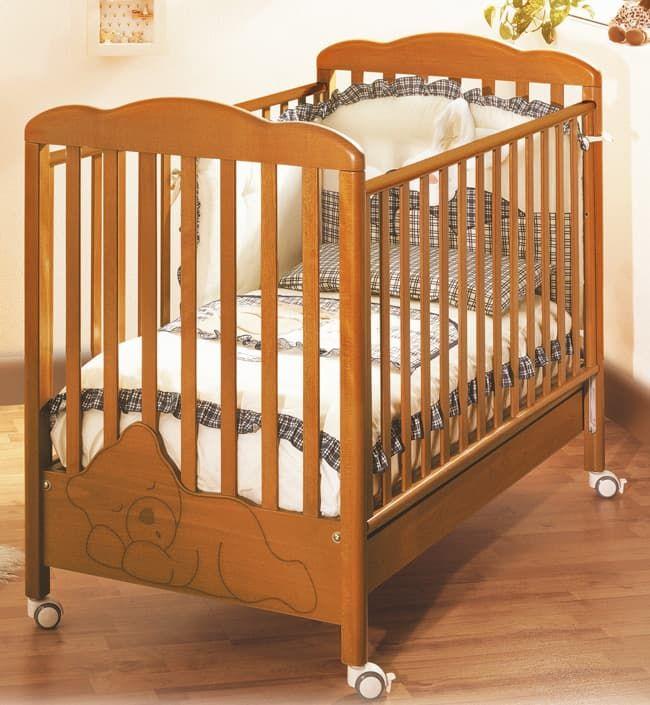 Кровать Baby Expert Кровать Baby Expert Coccolo вишневая