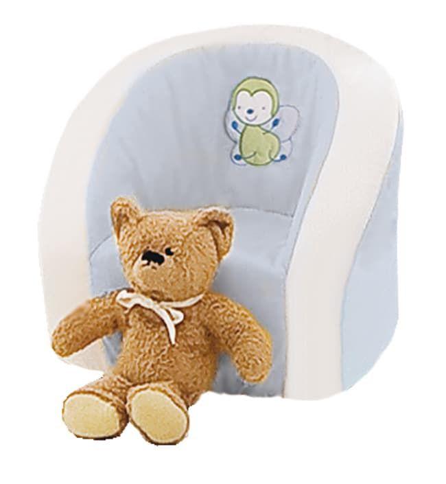 Мягкое детское кресло Italbaby TulipanoКресла<br>Детское кресло TULIPANO голубой<br><br>Цвет: Голубой<br>Габариты ( В х Ш х Д ), см: 35 x 45 x 50