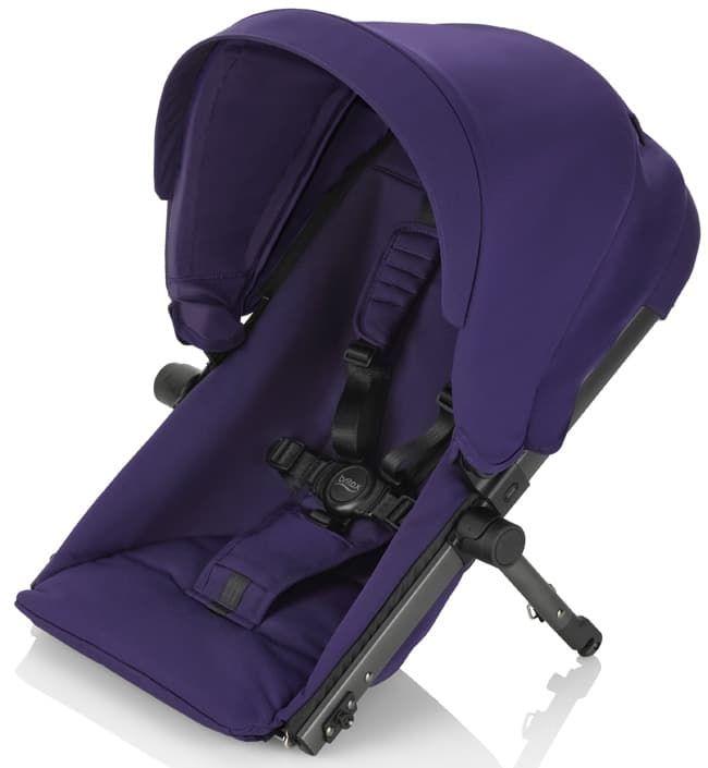 Сиденье для второго ребенка B-ReadyАксессуары для колясок<br>Сиденье для 2-го ребенка B-Ready Mineral Purple<br><br>Цвет: Mineral Purple<br>Габариты ( В х Ш х Д ), см: None