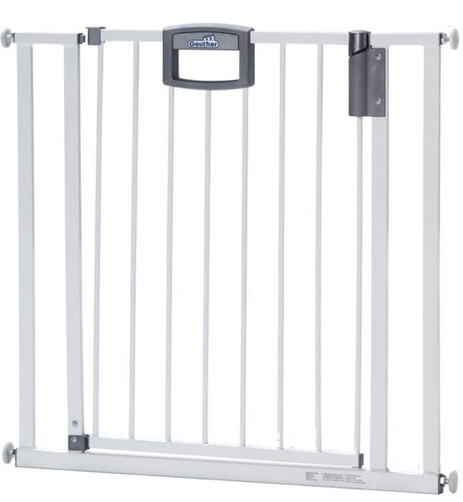 Ворота безопасности Geuther EasyLock белые (ширина: 80,5-88,5 см)