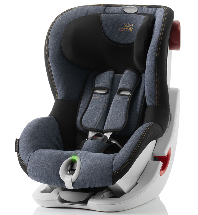 Автокресло Britax Roemer Детское автокресло KING II LS (группа 1, от 9 до 18 кг) Blue Marble автокресло britax roemer детское автокресло britax roemer baby safe plus shr ii группа 0 до 13 кг moonlight blue