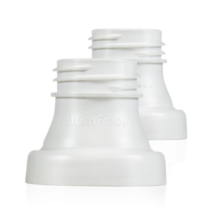 Адаптер BornFree Переходник-адаптер BornFree breeze™ для молокоотсоса наборы для кормления bornfree подарочный набор breeze пластик