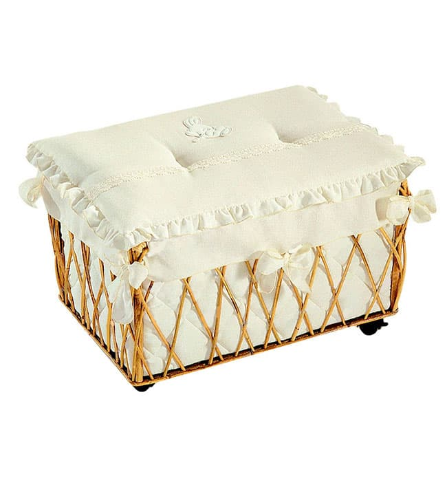 Ящик Italbaby Ящик для игрушек Italbaby Cuccioli кремовый italbaby детское кресло italbaby cuccioli арт 670 0062