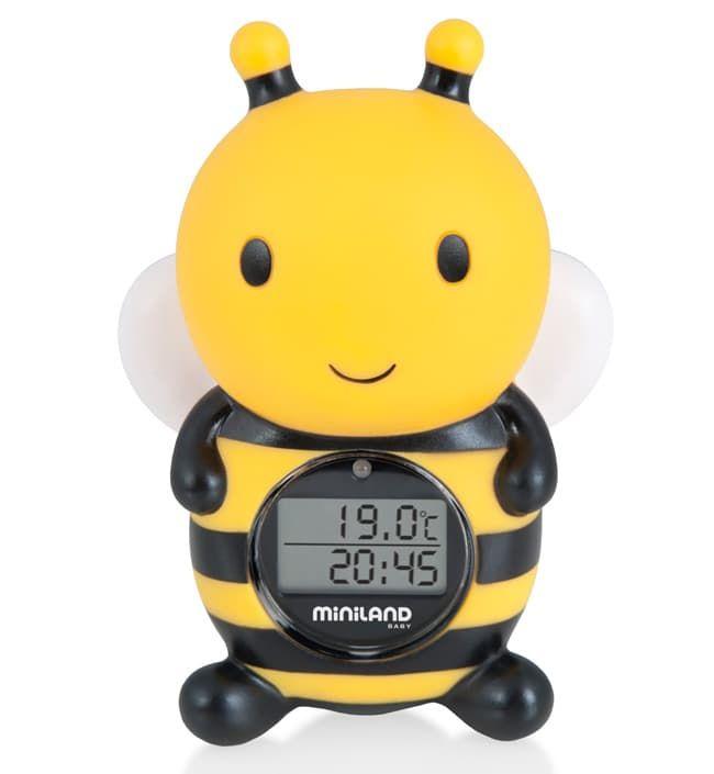 Цифровой термометр для воды и воздуха Thermo Bath Пчелка (Miniland)