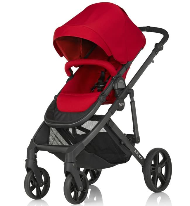 все цены на Коляска Britax Детская коляска Britax B-Ready Flame Red онлайн