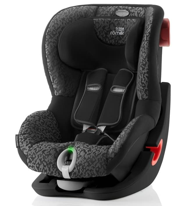 Автокресло Britax Roemer Детское автокресло King II LS (группа 1, от 9 до 18 кг) Black Series Mystic Black автокресло britax roemer детское автокресло discovery sl группа 2 3 от 15 до 36 кг flame red