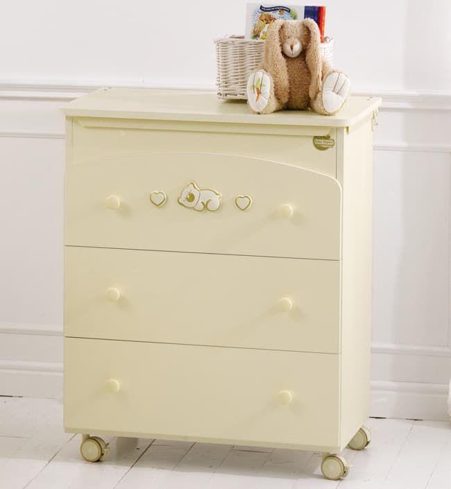 Пеленальный комод Baby Expert Пеленальный комод Dormiglione крем/золото