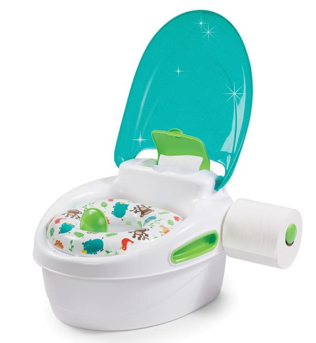 Горшок 3 в 1 Summer Infant Step-By-Step Potty Бирюзовый