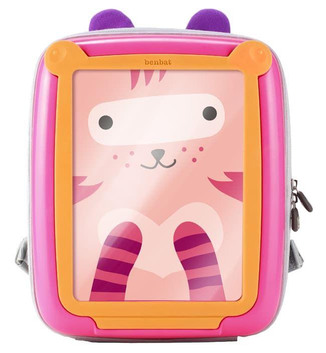 Детский рюкзак Benbat GoVinciАксессуары для авто и путешествий<br>Детский рюкзак, розовый/оранжевый<br><br>Цвет: Розовый/оранжевый<br>Габариты ( В х Ш х Д ), см: 30х25,9х10,4