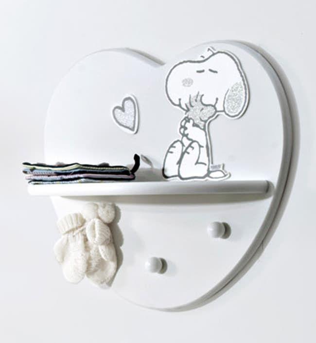 Полка-вешалка Baby Expert Snoopy
