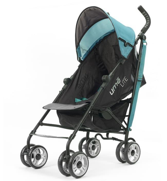 Фото Коляска Summer Infant Детская прогулочная коляска-трость Summer Infant Ume Lite черно-изурудная
