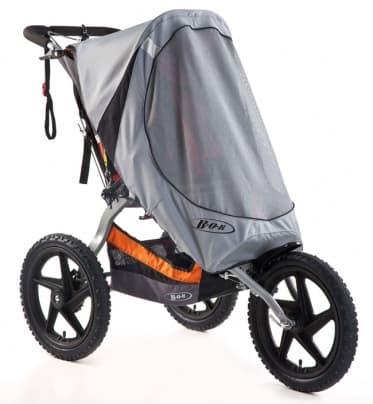 Накидка от солнца для колясок Sport Utility Stroller и IronmanАксессуары для колясок<br>BOB Накидка от солнца для колясок Sport Utility Stroller/IRONMAN (нейлон)<br><br>Цвет: Серый<br>Габариты ( В х Ш х Д ), см: 42x24x6