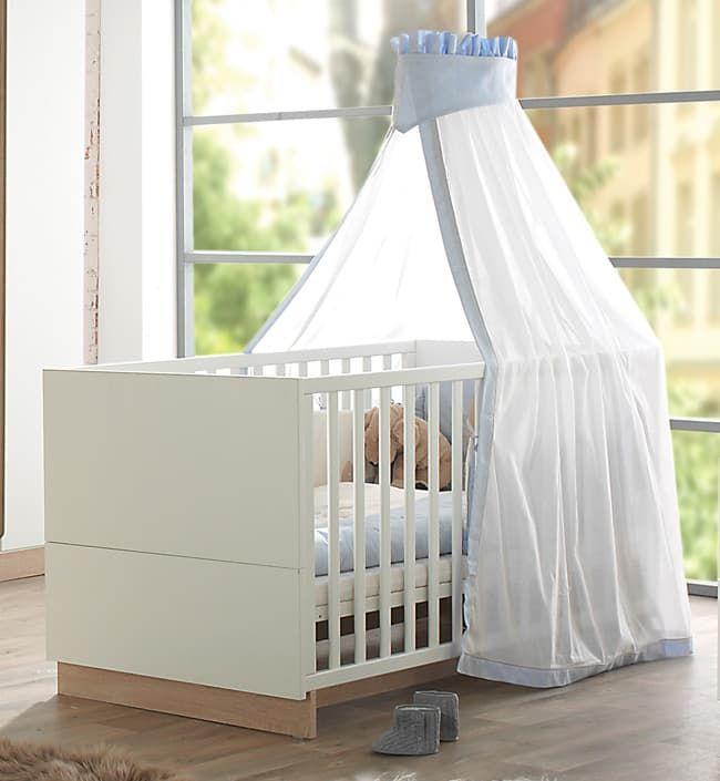 Кровать Geuther Детская кровать Geuther United белая/натуральная колыбель класическая geuther aladin натуральная