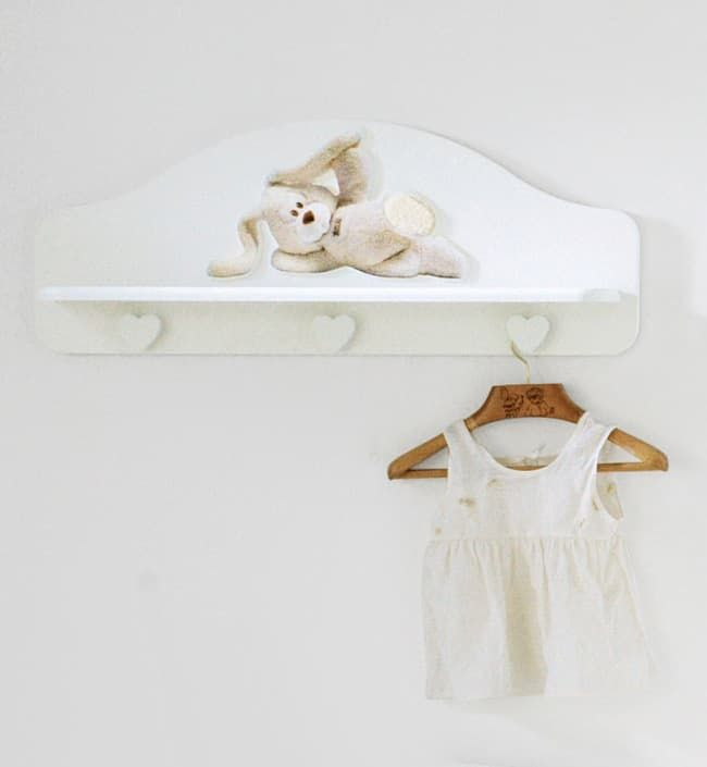 Полка-вешалка Baby Expert Полка-вешалка Cremino by Trudi белая baby expert вешалка полка baby expert akoya