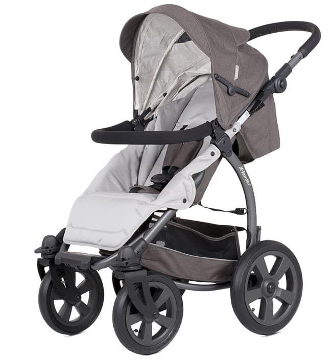 Детская прогулочная коляска X-Lander X-AДетские коляски<br>Коляска детская X-Lander X-A Stone grey<br><br>Цвет: Stone grey<br>Габариты ( В х Ш х Д ), см: 117 х 67,5 x 111