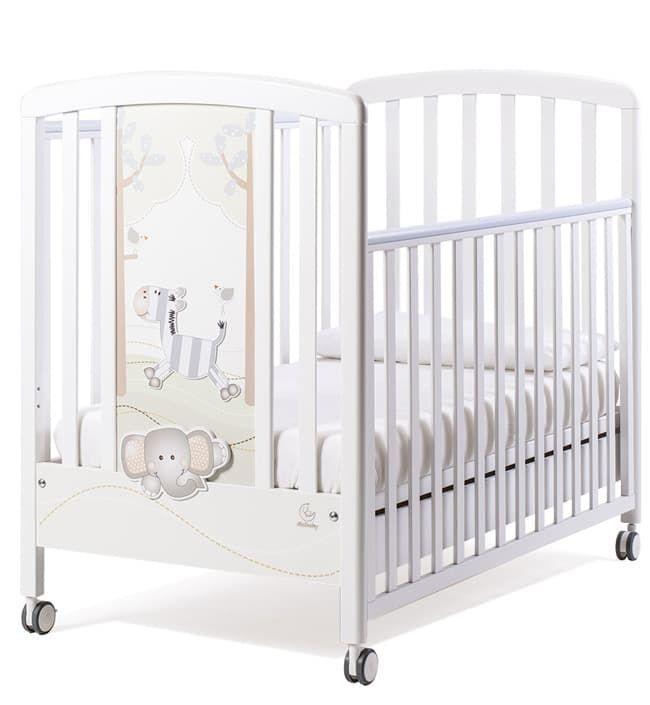 Кровать Italbaby Кровать Italbaby Zerby белая