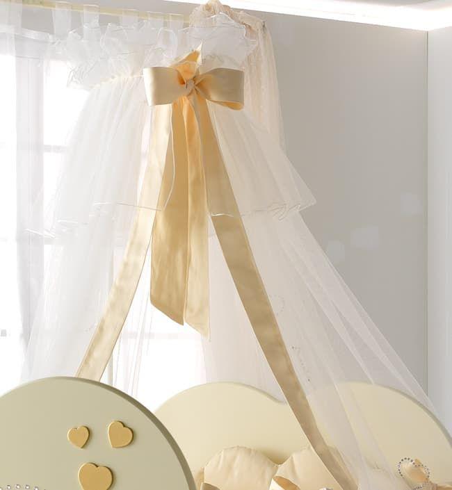 Балдахин Baby Expert Балдахин Cuore di Mamma крем/золото roman baby панно на стену roman baby cuore di mamma арт 6008