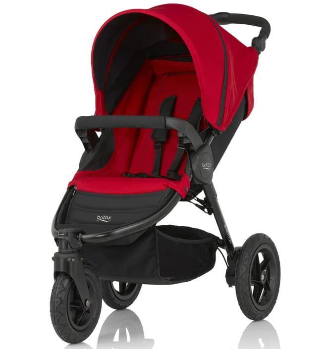 Коляска Britax Детская коляска Britax B-Motion 3 Flame Red детская коляска
