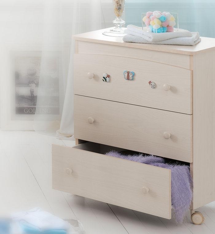 Пеленальный комод Baby Expert Ceramics Perla
