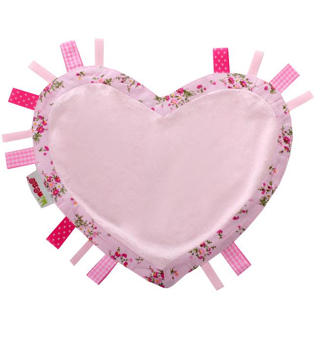 Салфетка-комфортер Minene Мороженое-рожокИгрушки<br>Мороженое-рожок Ice Cream Cones Салфетка-комфортер  в подарочной упаковке в форме сердца<br><br>Цвет: Розовый (сердце)<br>Габариты ( В х Ш х Д ), см: None