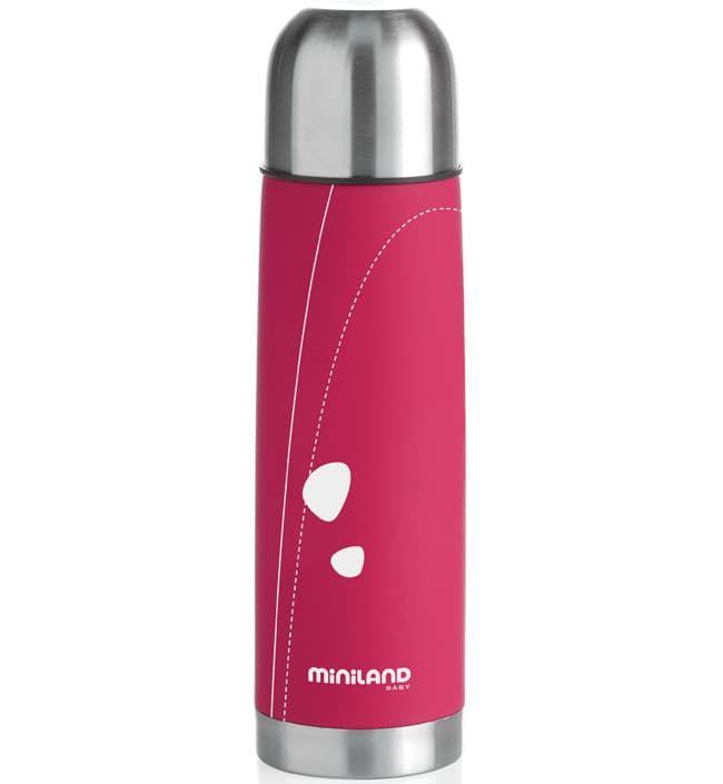 Miniland Термос для жидкостей 500 мл розовый