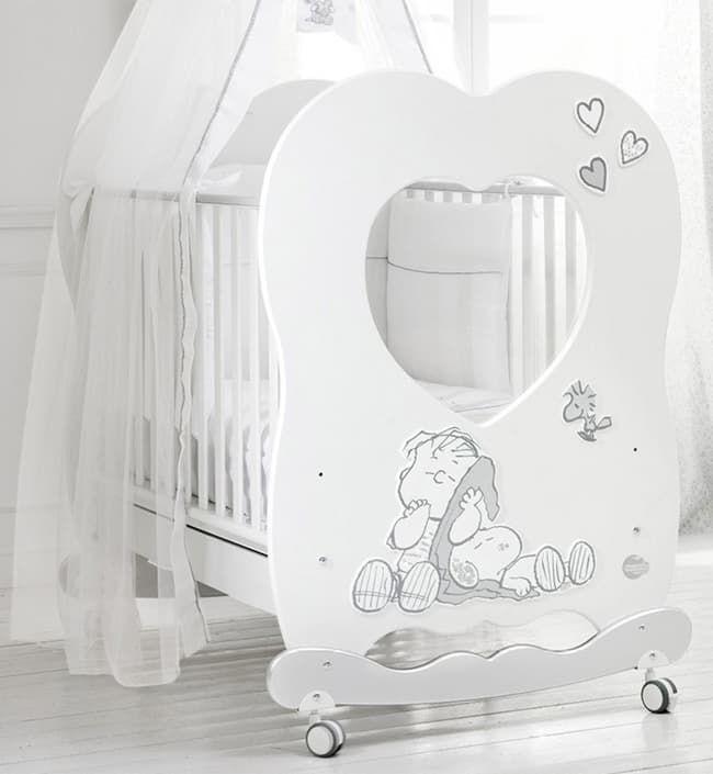 Кровать Baby Expert Snoopy  Linus 120x85 смКровати<br>Детская кровать Snoopy LINUS белый/серебро<br><br>Цвет: Белый/серебро<br>Габариты ( В х Ш х Д ), см: 120 x 85 x 135